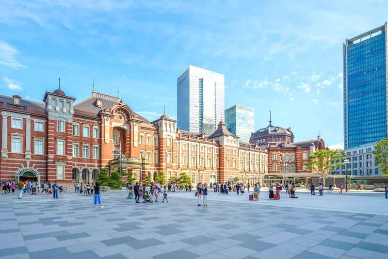 Il centro di Tokyo, Marunouchi