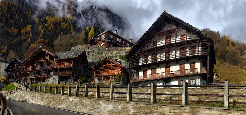 Visitare villaggi di Valsesia