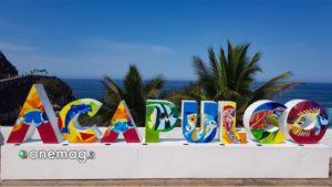 Acapulco, scritta colorata