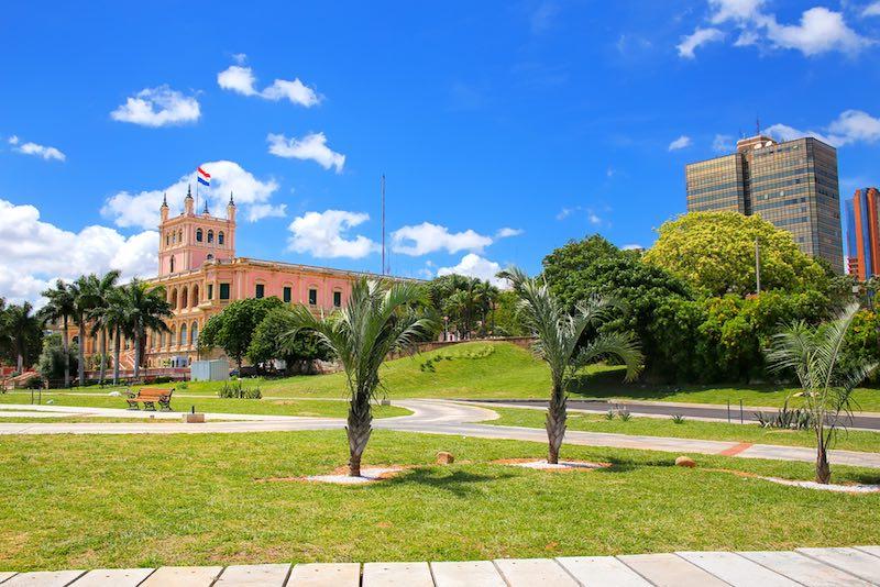 Cosa vedere ad Asuncion, Palazzo del Governo