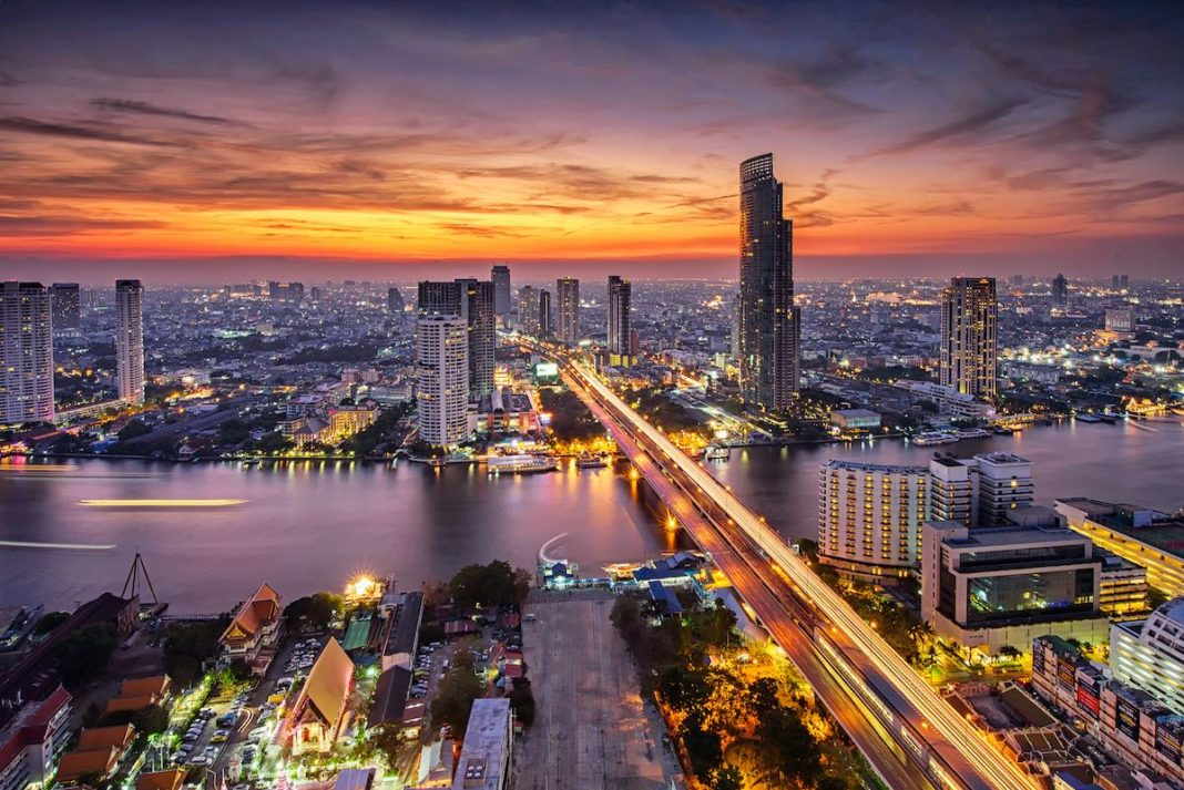 L'antico quartiere di Farang, Bangkok