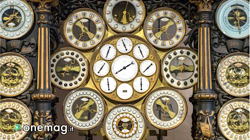 Besancon, particolare dell'orologio astronomico