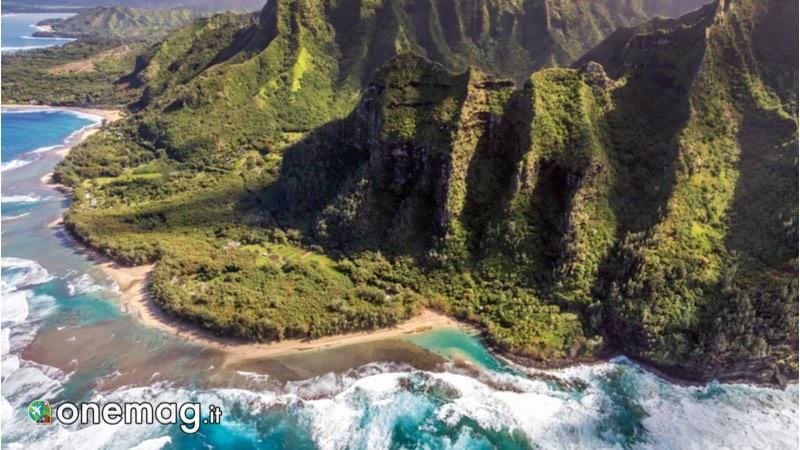 Panorama di Big Island, Hawaii