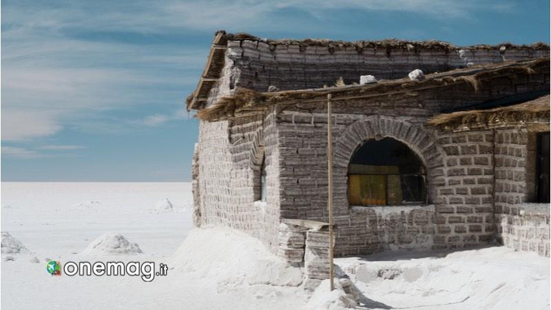 Bolivia -Dormire all'albergo del sale