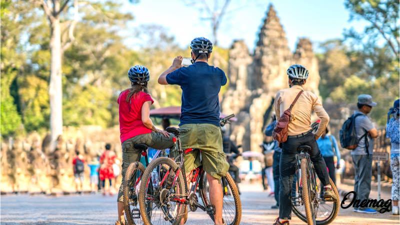 Le attività sportive della Cambogia, bicicletta