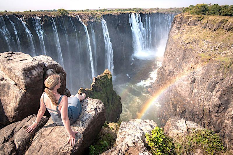 Le cascate Vittoria di Livingstone