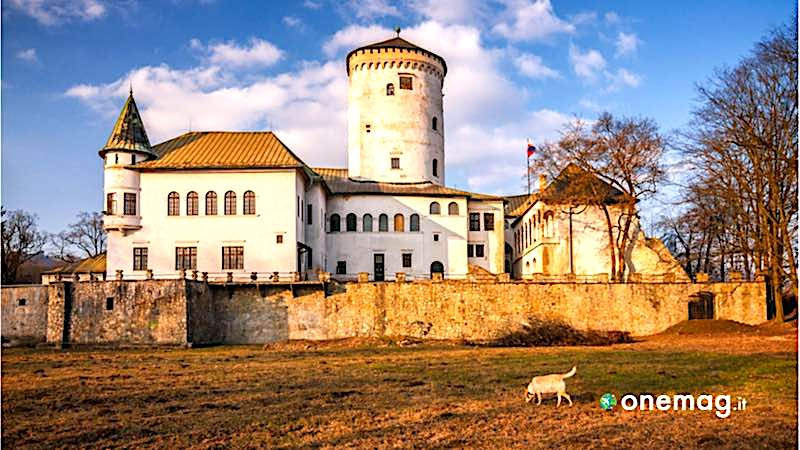 Slovacchia, castello di Budatin