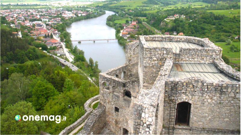 Slovacchia, il castello di Strecno