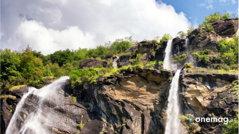 Cosa vedere a Piuro, il borgo della Valchiavenna, le cascate