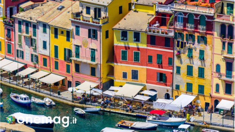 Case colorate di Portofino