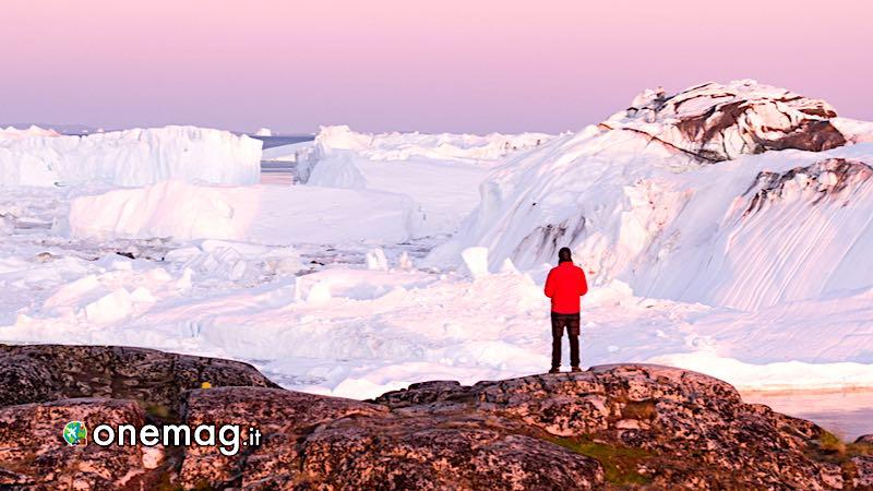 Groenlandia ghiacciaio Jakobshavn