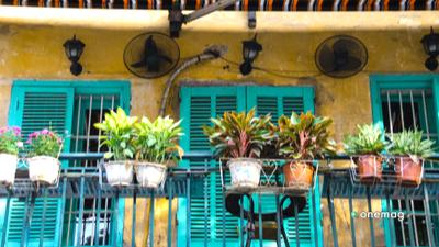 Hanoi, quartiere vecchio casa
