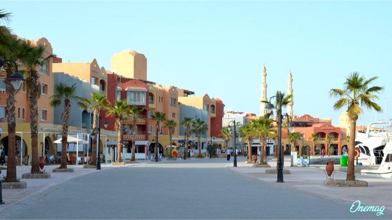 Vacanza ad Hurghada, Marina Beach