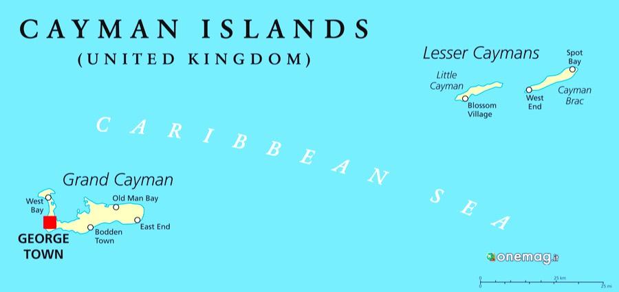 Cosa fare nelle isole Cayman