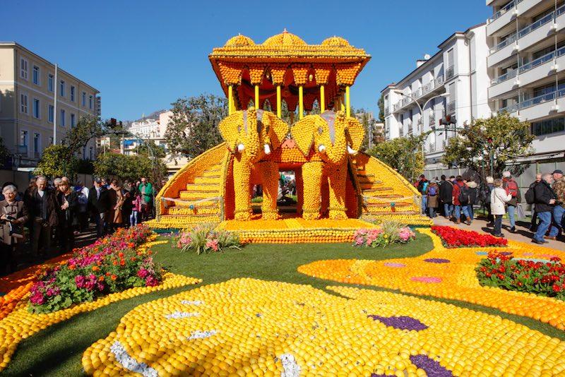 Cosa vedere a Mentone, la Festa del Limone