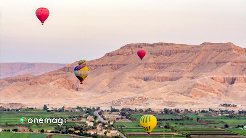 Egitto -In mongolfiera sopra la Valle dei Re