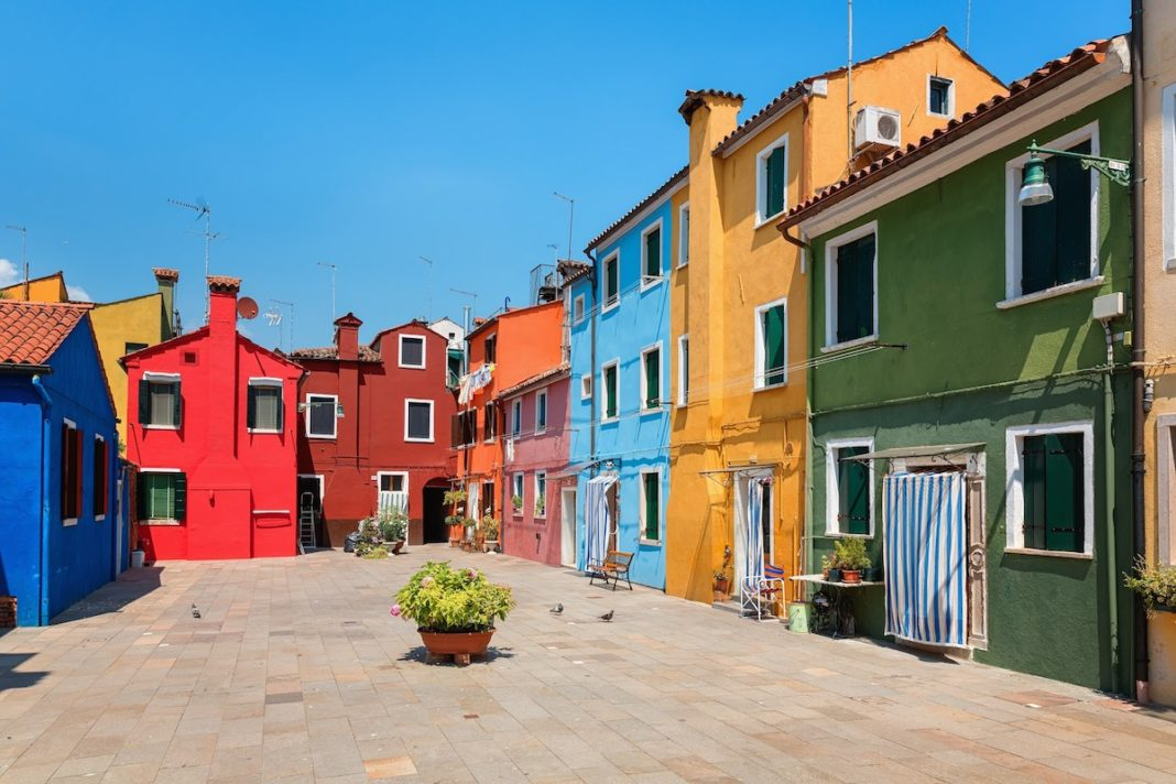 Storia di Murano, Venezia