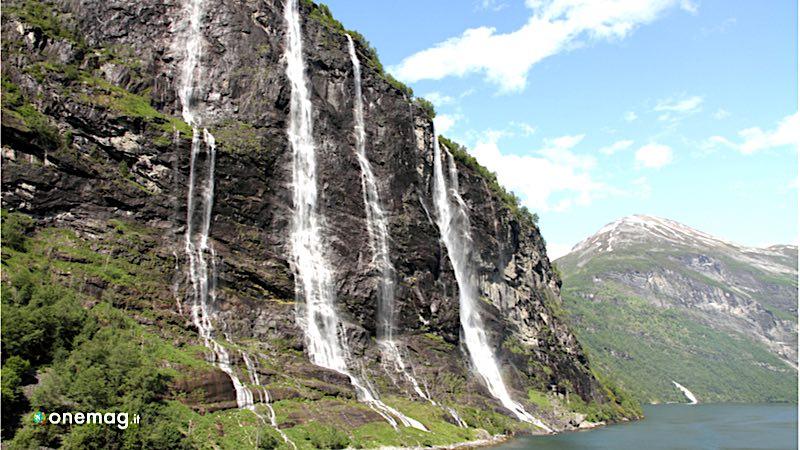 Cascata delle sette sorelle, Norvegia
