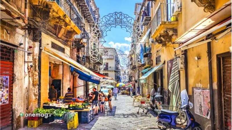 Palermo, strada