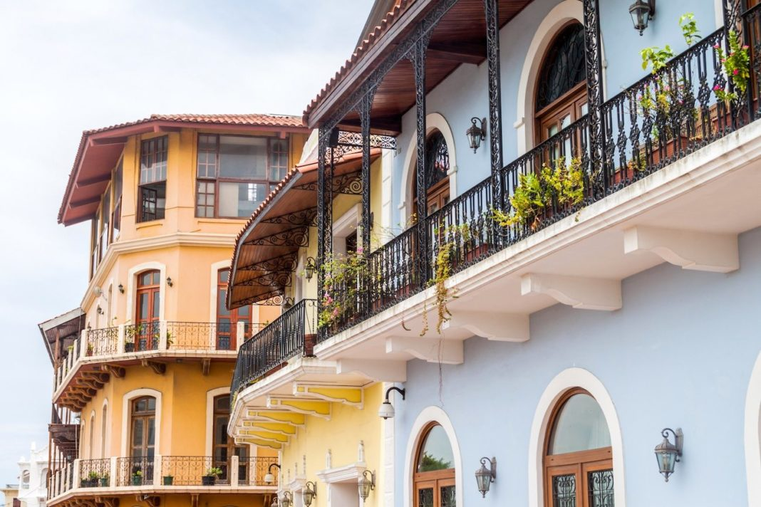 Panama City, casco vejo