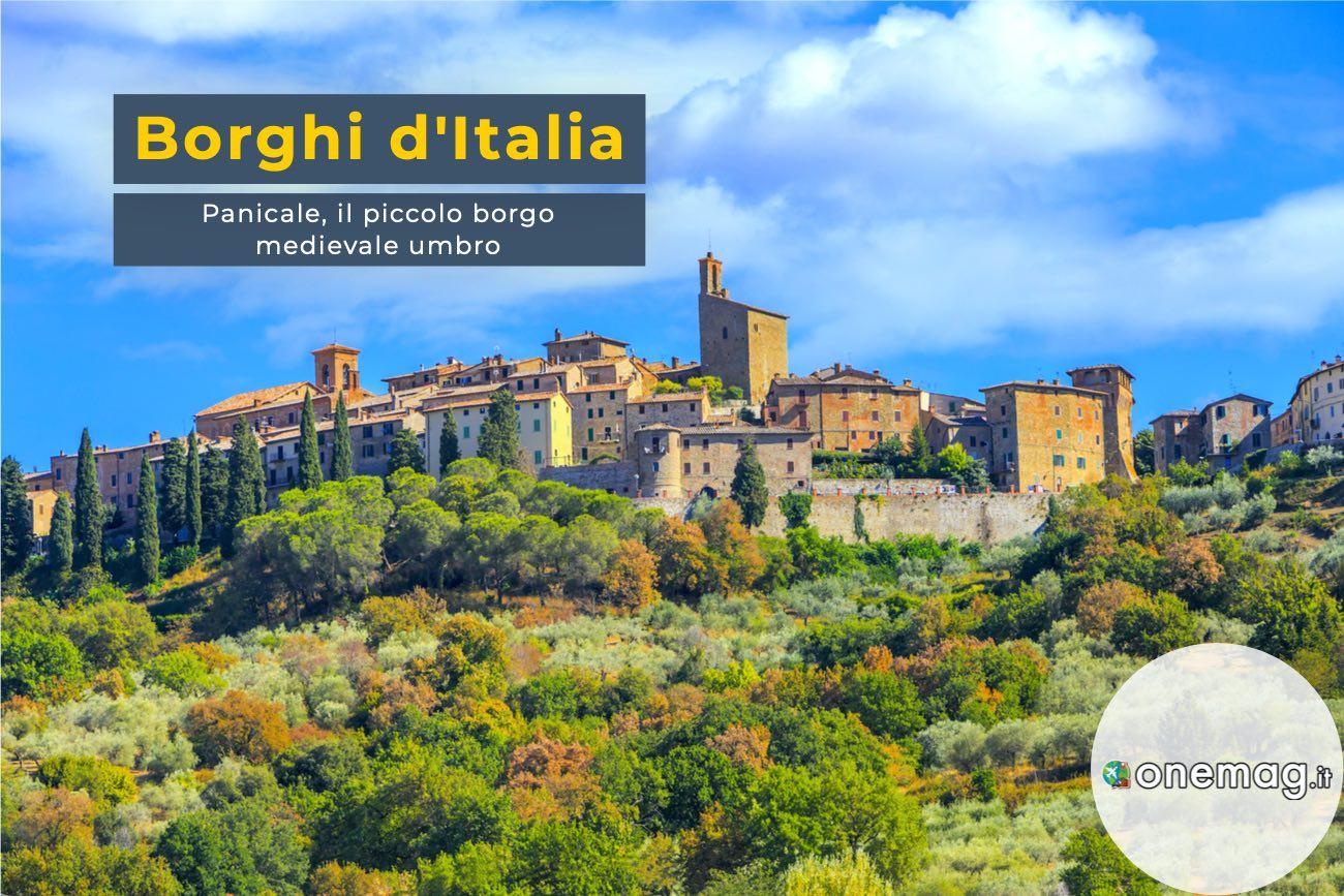 Panicale, il piccolo borgo dell'Umbria