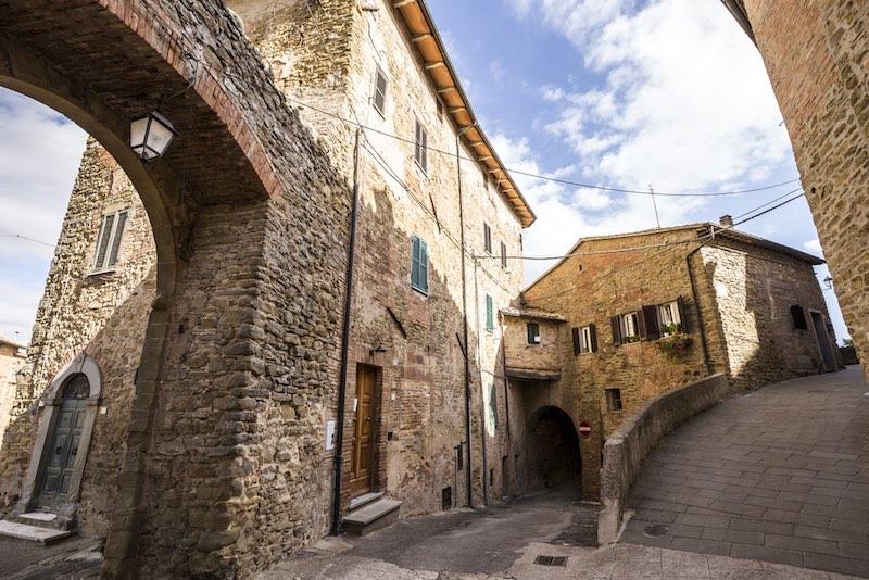 Panicale, veduta interna del Borgo dell'Umbria