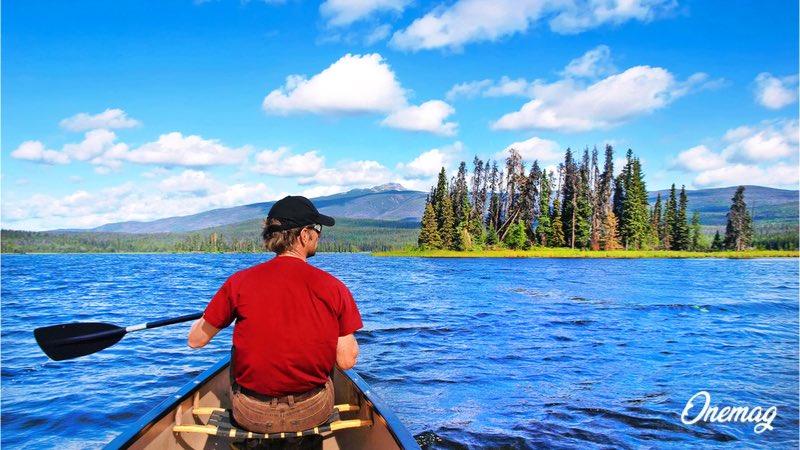 Parchi Nazionali Canada, canoa