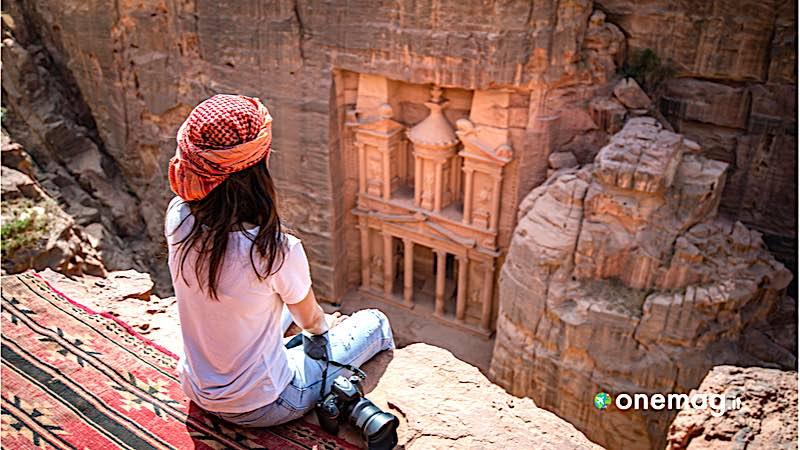 Petra, veduta dall'alto