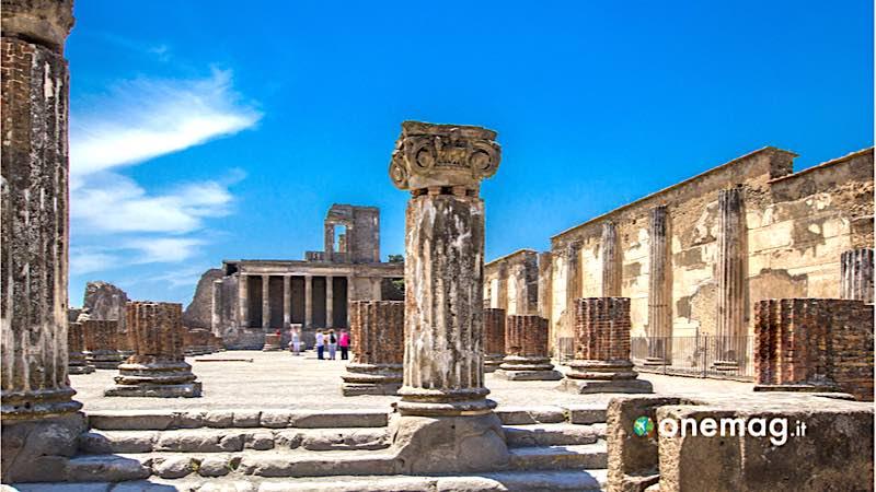Pompei, veduta del sito