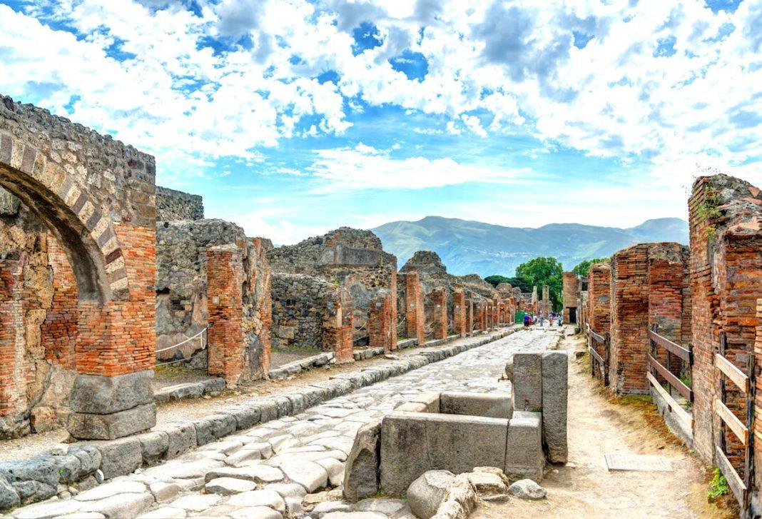 Pompei, le rovine