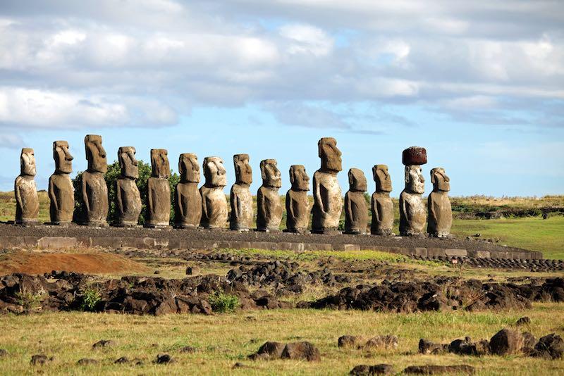 Rapa Nui, i Moai