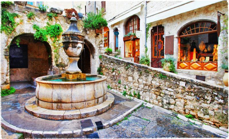 Vence fontana