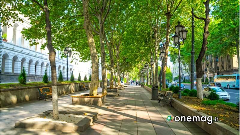Tbilisi, Viale Rustaveli