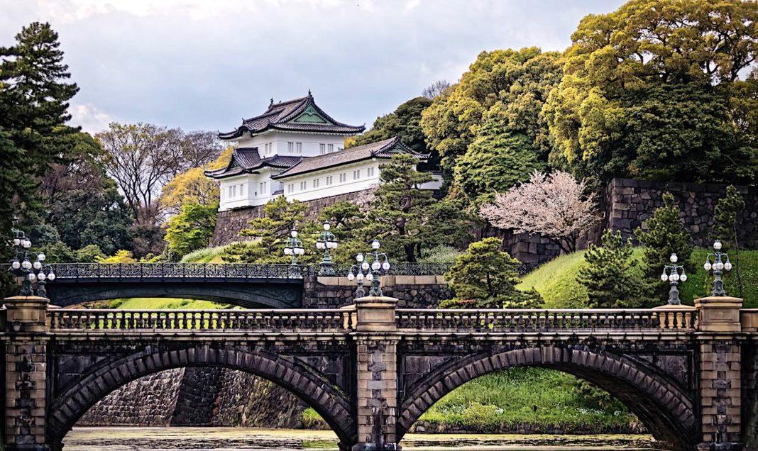 Il centro di Tokyo, il Palazzo Imperiale