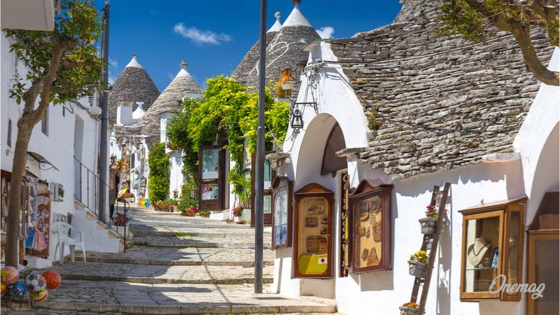 Weekend d'autunno, Alberobello