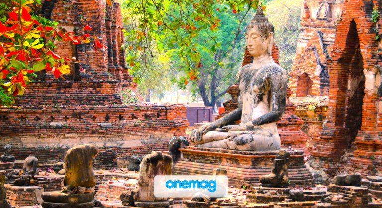 Ayutthaya, l'antica città thailandese in rovina