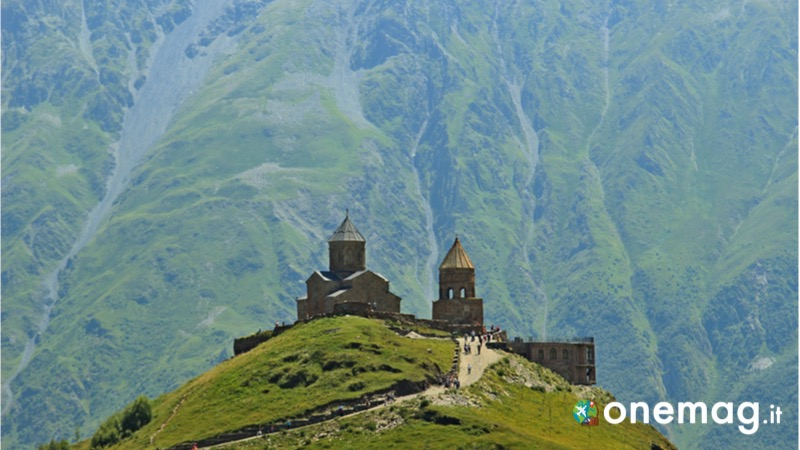 Area di Kazbegi in Georgia