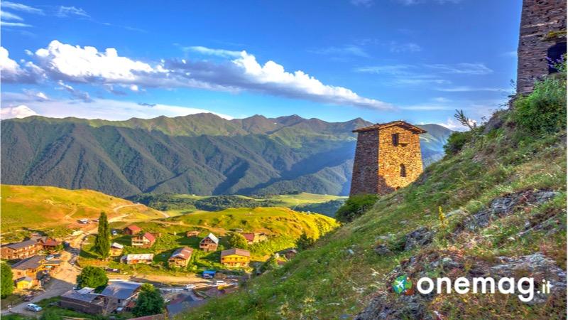 La regione storica di Tuscezia in Georgia