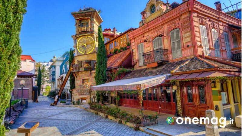La città vecchia di Tbilisi