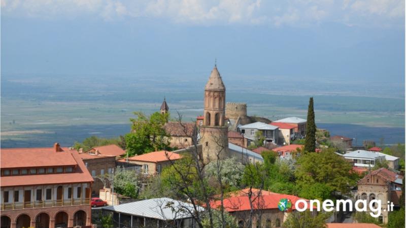 La regione orientale del Kakheti in Georgia