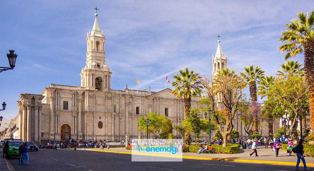 Centro di Arequipa, Perù