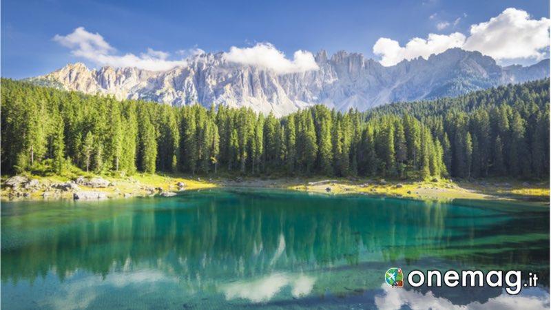 Guida di Bolzano, il lago Carezza
