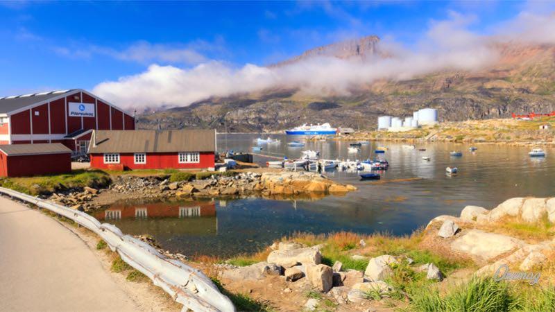 Isola Disko, Groenlandia