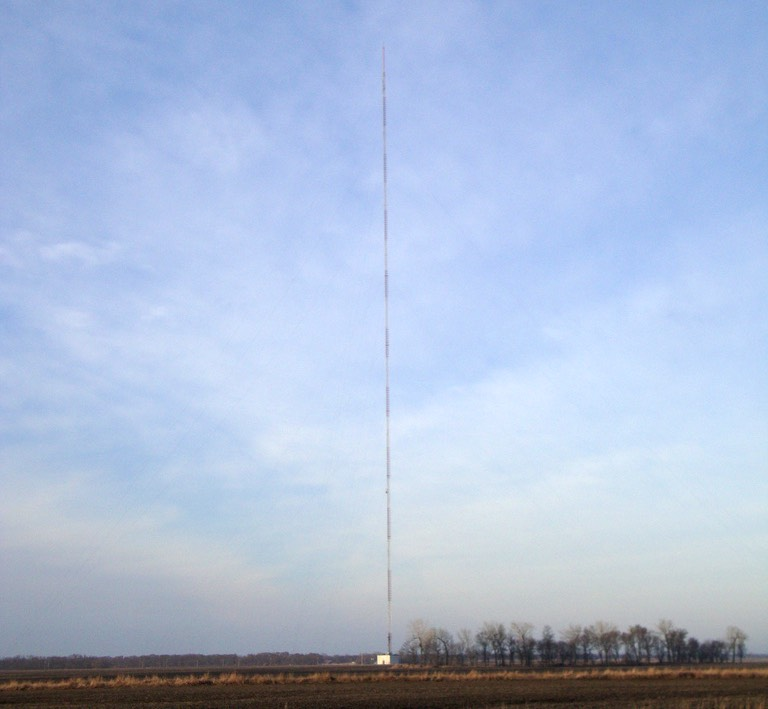 Antenna tv KVLY-TV di Blanchard