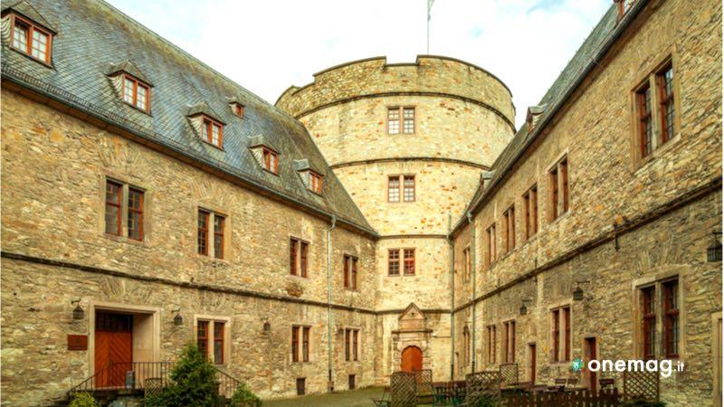 L'interno del Castello di Wewelsburg