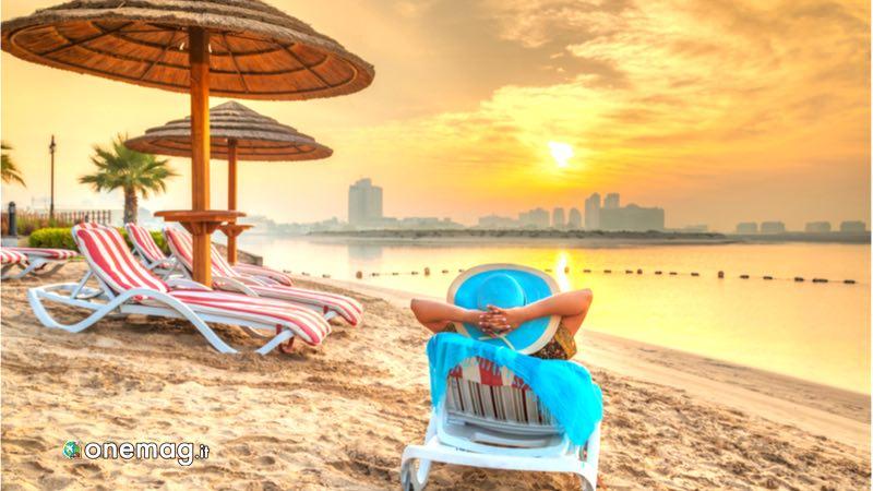 Abu Dhabi, spiaggia