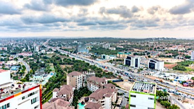 Accra, panorama