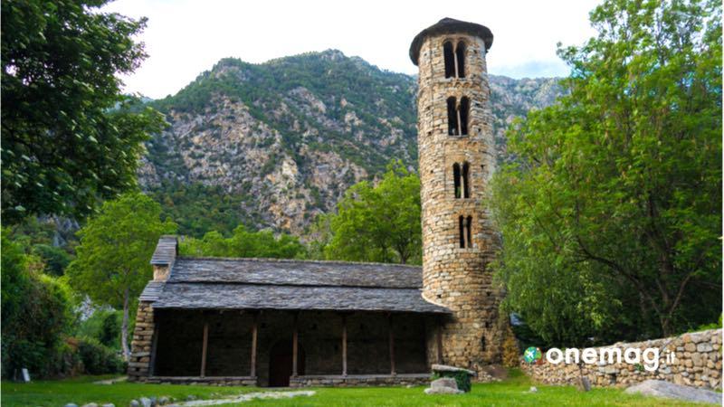 Andorra, la chiesa di Santa Coloma