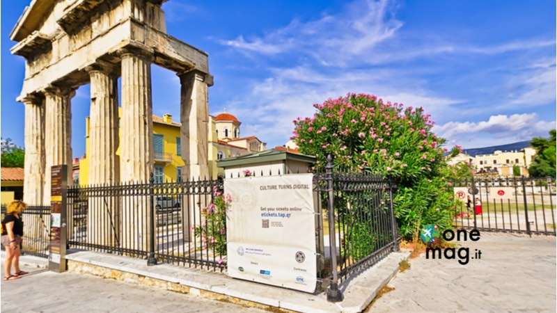 Atene, foro romano