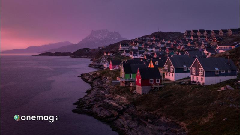 Groenlandia, aurora boreale